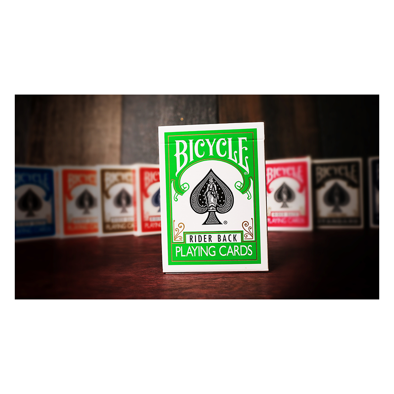 Bicycle Vert Playing Cards by USPCC wwww.magiedirecte.com