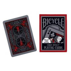Cards Bicycle Tragic Royalty USPCC wwww.magiedirecte.com