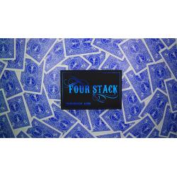 FOUR STACK BLUE by Zihu - Trick wwww.magiedirecte.com