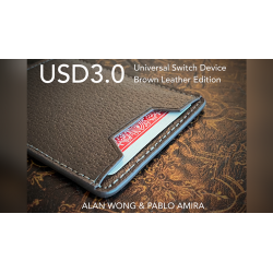 USD3 - Universal Switch Device BROWN by Pablo Amira and Alan Wong - Trick wwww.magiedirecte.com