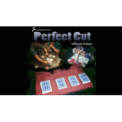 PERFECT CUT GIMMICK DECK - Jeff Nolasco wwww.magiedirecte.com