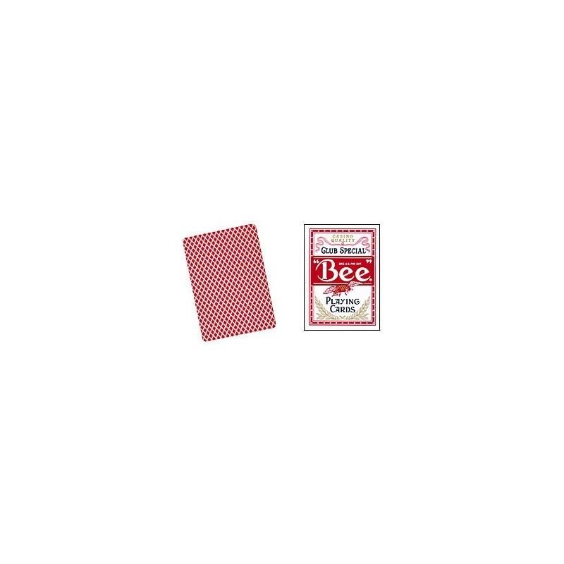 Bee Poker size (Red) wwww.magiedirecte.com