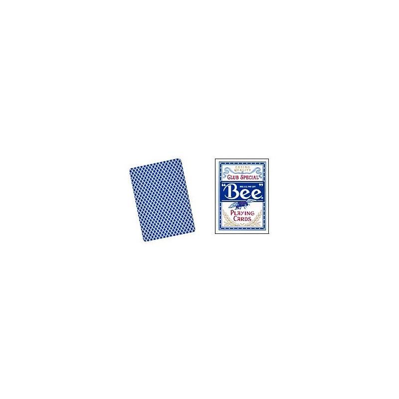 Cards Bee Poker size (Blue) wwww.magiedirecte.com