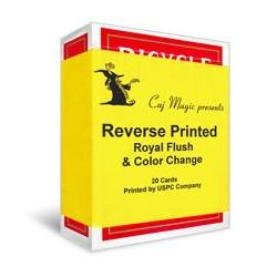 Reverse Printed Cards by Caj Magic wwww.magiedirecte.com