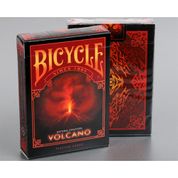 """Bicycle Natural Disasters """"Volcano"""" Playing Cards by Collectable Playing Cards wwww.magiedirecte.com"""