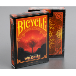 """Bicycle Natural Disasters """"Wildfire"""" by Collectable Playing Cards wwww.magiedirecte.com"""