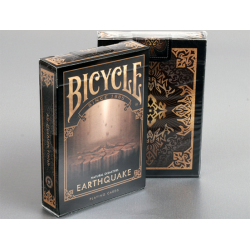 """Bicycle Natural Disasters """"Earthquake"""" Playing Cards by Collectable Playing Cards wwww.magiedirecte.com"""