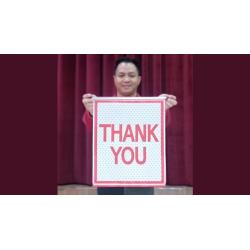 AMAZING BANNER (Thank You) - JL Magic wwww.magiedirecte.com