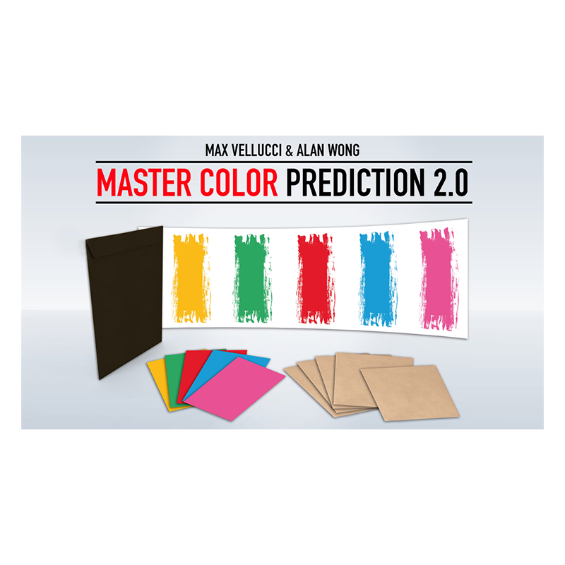 MASTER COLOR PREDICTION 2.0 - Max Vellucci wwww.magiedirecte.com