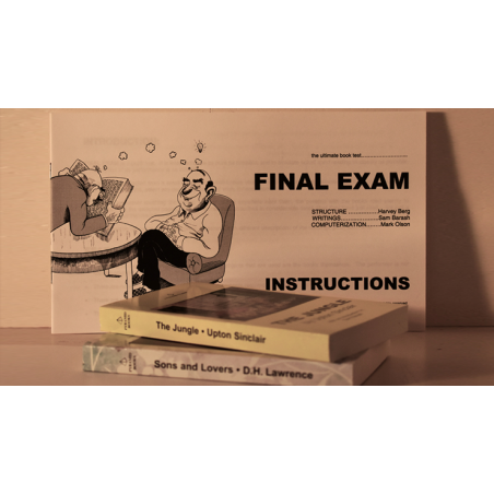 FINAL EXAM BOOK TEST HARVEY BERG wwww.magiedirecte.com
