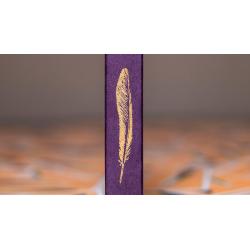 Feather Deck: Goldfinch Edition (Gold) by Joshua Jay wwww.magiedirecte.com