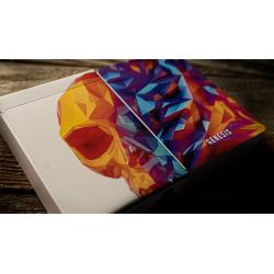 Limited Edition Gilded Memento Mori Genesis Playing Cards wwww.magiedirecte.com