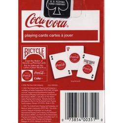 Coke Playing Cards (6 PACK) by USPCC wwww.magiedirecte.com