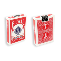 Bicycle Playing Cards 809 Mandolin Red by USPCC wwww.magiedirecte.com
