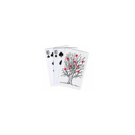 TREE CARD MONTE - Royal Magic wwww.magiedirecte.com