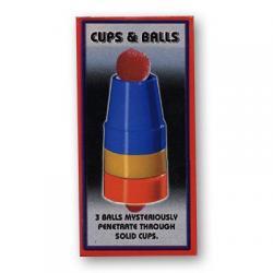 Cups & Balls - Plastic by Uday - Trick wwww.magiedirecte.com