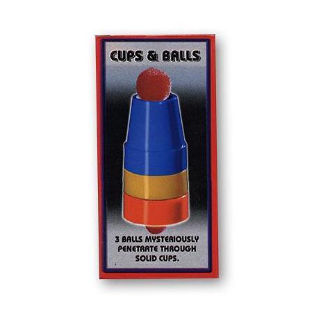 Cups & Balls - Plastic wwww.magiedirecte.com