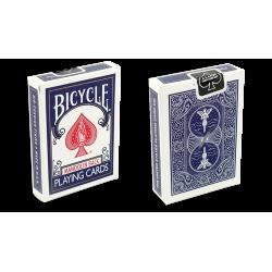 Bicycle Playing Cards 809 Mandolin Blue by USPCC wwww.magiedirecte.com