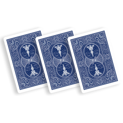 Bicycle Playing Cards 809 Mandolin Bleu by USPCC wwww.magiedirecte.com