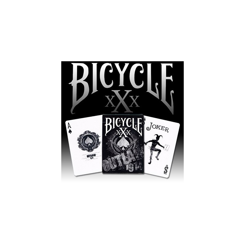 Outlaw Bicycle Deck by US Playing Card wwww.magiedirecte.com