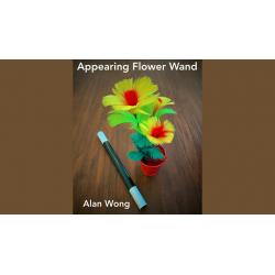 APPEARING FLOWER WAND - Alan Wong wwww.magiedirecte.com