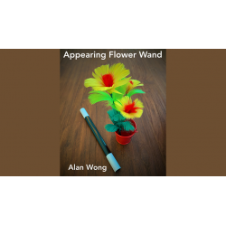 Appearing Flower Wand by Alan Wong - Trick wwww.magiedirecte.com