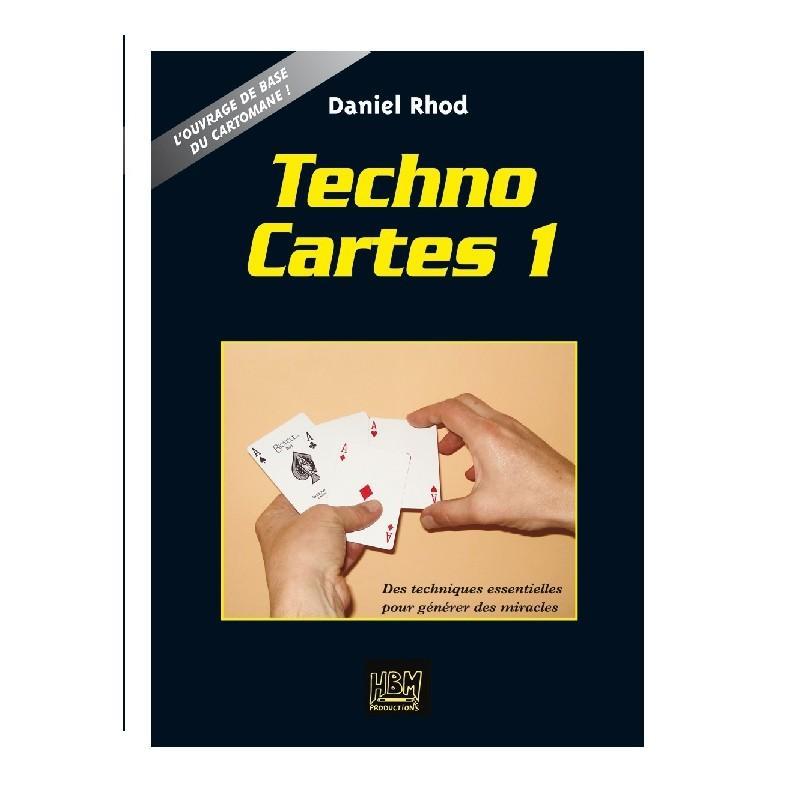 TECHNOCARTES VOL 1 - LIVRE wwww.magiedirecte.com