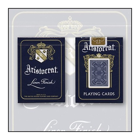 Aristocrat 727 Bank Note Cards (Bleu) by USPCC wwww.magiedirecte.com