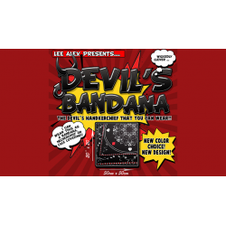 DEVIL'S BANDANA (Noir) - Lee Alex wwww.magiedirecte.com