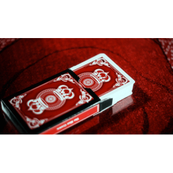 The Crown Deck (RED) from The Blue Crown wwww.magiedirecte.com