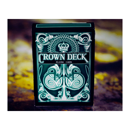 The Crown Deck (GREEN) from The Blue Crown wwww.magiedirecte.com