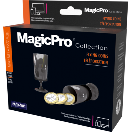 TELEPORTATION DE PIECES - MagicPro wwww.magiedirecte.com