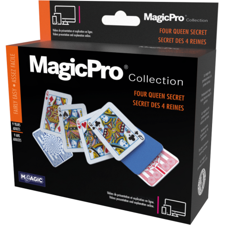 SECRETS DES 4 REINES - MagicPro wwww.magiedirecte.com