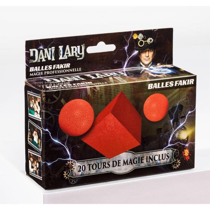 BALLES FAKIR DANI LARY wwww.magiedirecte.com