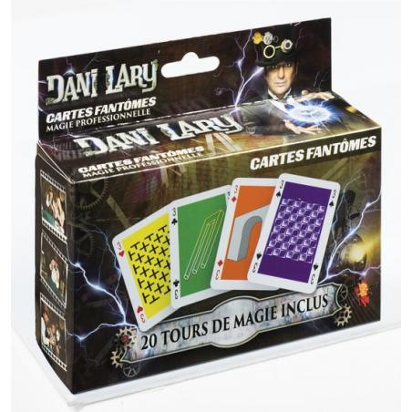 CARTES FANTOMES DANI LARY wwww.magiedirecte.com