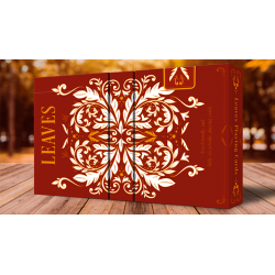 LEAVES AUTUMN PLAYING CARDS wwww.magiedirecte.com