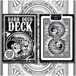 Dark Deco Deck by US Playing Card wwww.magiedirecte.com