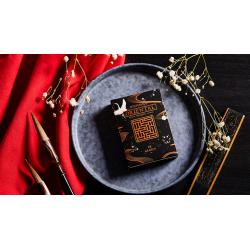Oriental Memory Black playing Cards wwww.magiedirecte.com