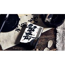 Mountain Wang Yue (Black) Playing Cards by Bocopo wwww.magiedirecte.com
