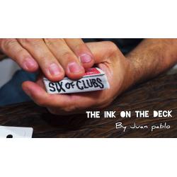 INK ON THE DECK by Juan Pablo - Trick wwww.magiedirecte.com