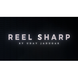 REEL SHARP (Gimmicks and Online Instructions) by UDAY - Trick wwww.magiedirecte.com