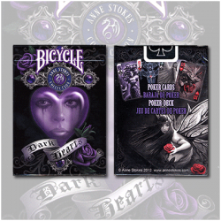 Anne Stokes Dark Hearts Cards by USPCC wwww.magiedirecte.com