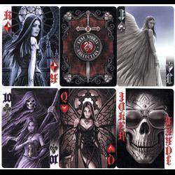 Anne Stokes Dark Hearts Cards by USPCC wwww.magiedirecte.com