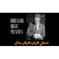 AM FM DECK RED by Michael Breggar - Trick wwww.magiedirecte.com