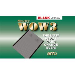 WOW 3.0 Blank (Gimmick and Online Instruction) by Masuda - Trick wwww.magiedirecte.com
