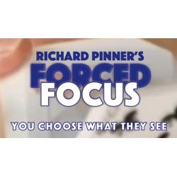 FORCED FOCUS BLUE by Richard Pinner - Trick wwww.magiedirecte.com