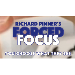 FORCED FOCUS RED by Richard Pinner - Trick wwww.magiedirecte.com
