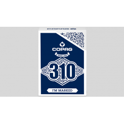 Copag 310 I'm Marked (Blue) Playing Cards wwww.magiedirecte.com