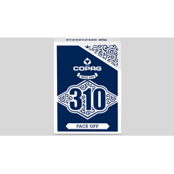 Copag 310 Face Off (Blue) Playing Cards wwww.magiedirecte.com