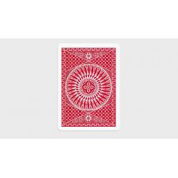 TALLY HO CIRCLE BACK GAFF PACK - (6 Cartes Rouges) wwww.magiedirecte.com